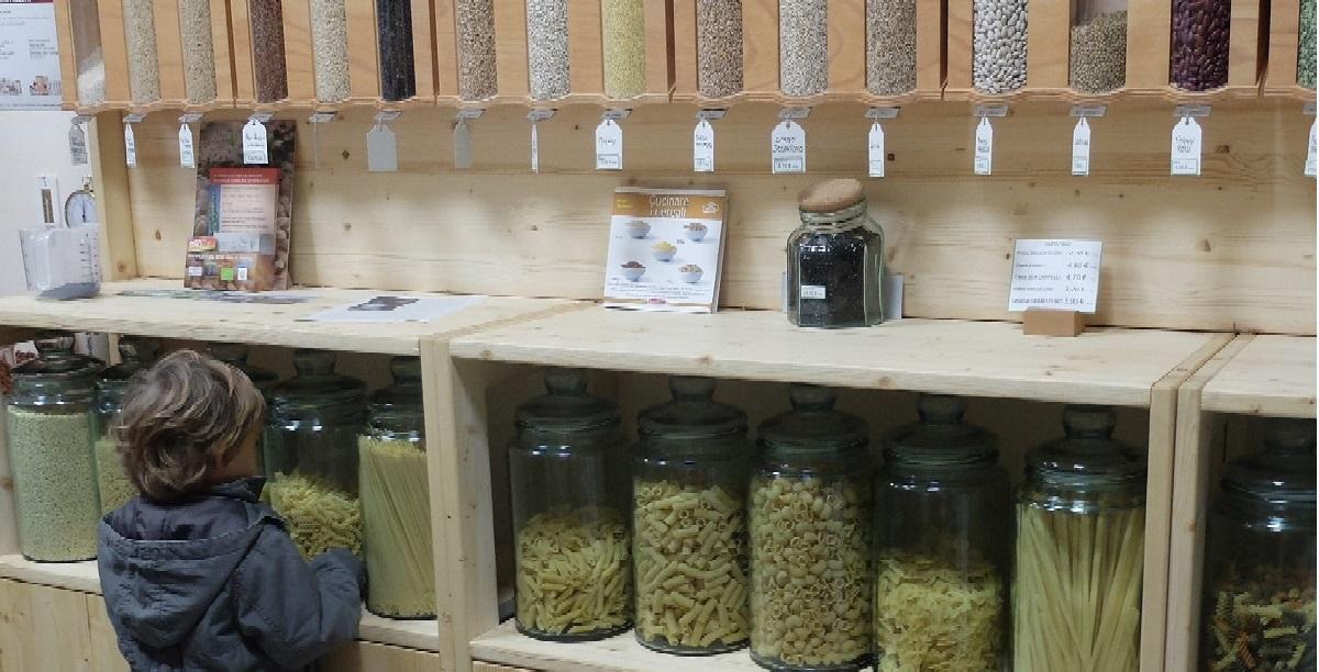 Cereali e legumi sfusi